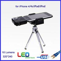 Free Shipping Mini Projector for Iphone/Ipad/Ipod