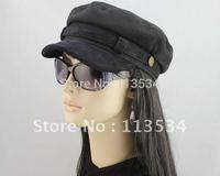Fashion & popular black cotton mishka peaked cap universal cap for man & woman 1pc free shipping