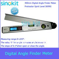 Free Shipping Digital Angle Finder Meter Protractor Spirit Level SK99G