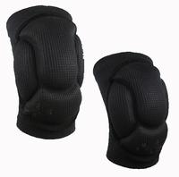 High quality fashion outdoor football basketball volleyball black durable knee shin leg protector guard pad kneepad leggings
