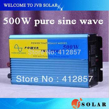 500w ups inverter peak power 1000w pure sine wave 12V 24V 48V option for solar power system use
