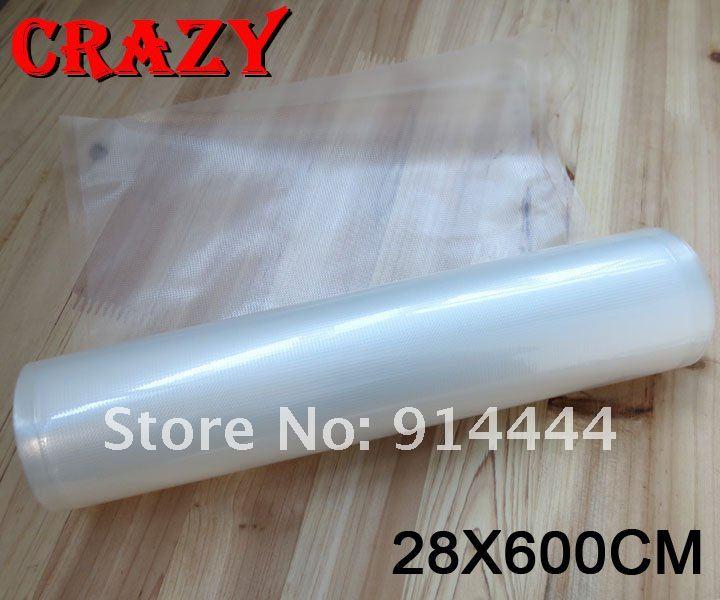 """28X600CM / 11""""x20' vacuum sealer roll / FDA&BPA FREE/ suitable for domestic vacuum sealer as foodsaver(China (Mainland))"""