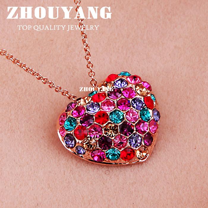 Цепочка с подвеской ZhouYang Jewellery ZYN105 18K