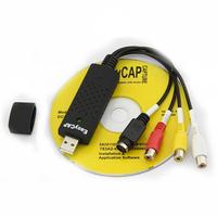 Free shipping New USB 2.0 Easycap dc60 tv dvd vhs video capture card audio av easy cap adapter #8039