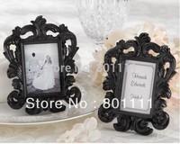 "Free shipping  wedding gifts  wedding favor  Wholesale ""Black Baroque"" Elegant Place Card Holder  Photo Frame, Home decoration"