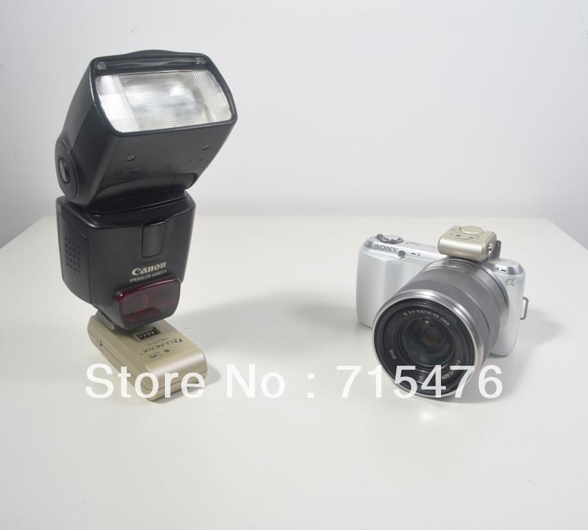 2.4 GHz Next Wireless Flash Trigger For Sony NEX Series. Works with  NEX-5C, and NEX-5N Cameras