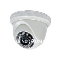 CMOS 600TVL with IR-CUT  Dome Camera CCTV ,20M IR Indoor Professional Home Security  Promotion Cheapest  DS-CD201SBDH3