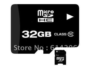 COOL 4GB 8GB 16GB 32gb MICRO SD CARD CLASS 10 MICROSD MICRO SD HC MICROSDHC TF FLASH MEMORY CARD REAL 32 GB WITH SD ADAPTER