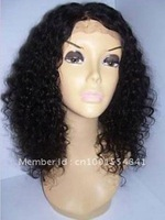 150% Density Deep Curly  Guaranteed 100% Remy Human Hair Lace Front Wigs