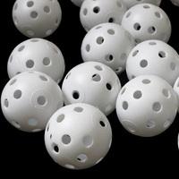 100 golf ball plastic practice balls airflow ball golf white