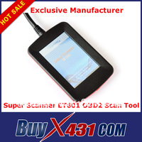 SuperOBD ET601 Universal OBD2 Scanner with 3.5' Touch Screen - OBDII EOBD OBD2 Code Reader Spanish German with factory price