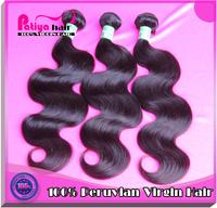 Mixed length grade 6A wet wavy virgin peruvian human hair weave 3pc lot fast shipping unprocessed virgin peruvian body wave hair