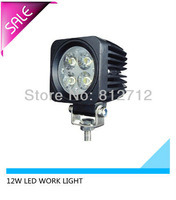12W LED WORK LIGHT for boat  suv  DHL Free shipping
