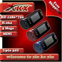 Durable And Stable One Key HD Transformation Mini Car Dvr Camera Black Box Video Spy Recorder Cam Th500 + Freeshipping