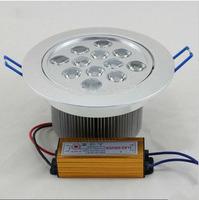 9w/12W high power LED ceiling spotlight / LED brightness energy saving lighting DHL freeshipping