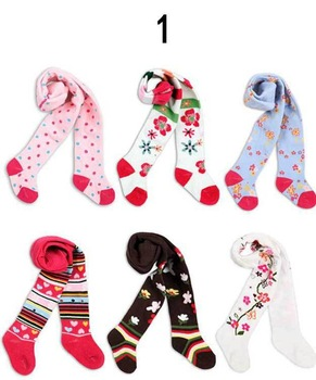 Baby Girl stocking pants, 7style cotton cute for children's tights for girl ,  Wholesale girls' leggings, free shipping