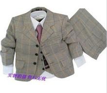2014 new children clothes sets child outerwear coat boy suit boys formal suit  blazers 3-piece suits kids boy suit jackets (China (Mainland))