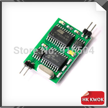By HK POST free ship Simple Connection 4 Wires Only For renault Can Bus Emulator Instrument Cluster Repair  Low Can +12v Gng