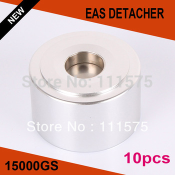 Strongest Universal Magnetic detacher Checkpoint EAS Hard Tag Detacher eas tag Remover 15,000GS 10pcs/lot