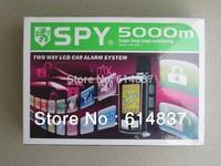 Quality LCD car alarm, Car Alarm System, Super long Distance Control Car alarm system