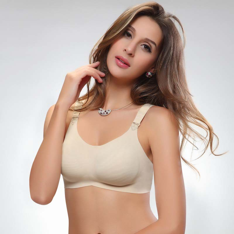 Discounging Seamless Sport Genie Bra Yoga bra Slimming Underwear Breast Massage The Comfortable and Functional Fashion Bra 9272(China (Mainland))