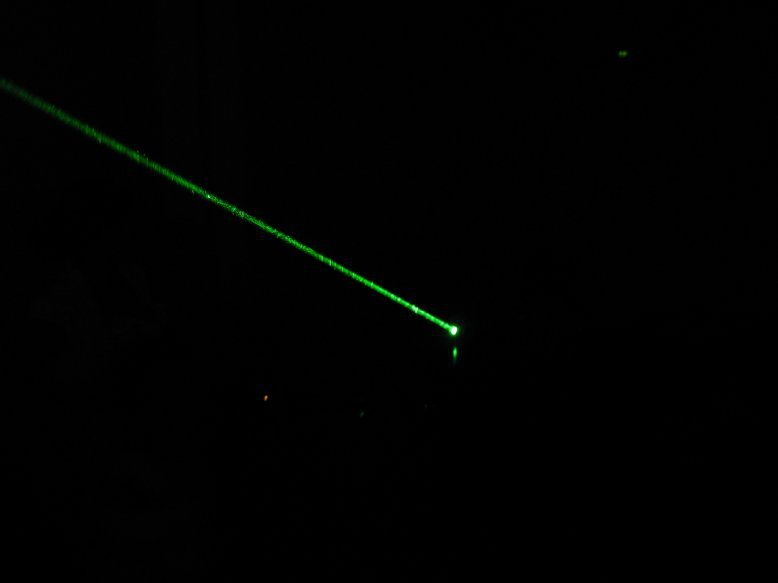 High Power Green Laser Pointer 200mw Adjustable Burn Match Free Shipping