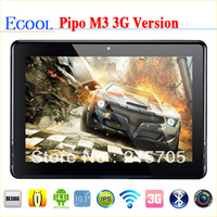 "Free Shipping Pipo M3 3G Version Dual Core 16GB 10.1"" Bluetooth HDMI IPS Capacitive Touch Screen Android 4.1 1280*800 Tablet"