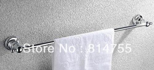 "(24"",60cm)Single Towel Bar/Towel Rail & Holder,Solid Brass Made,Chrome Finish, Bathroom Accessories,Free Shipping(China (Mainland))"