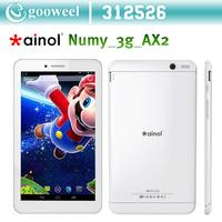 Original Ainol AX2 Numy 3G 7 inch IPS MTK8382 Quad Core 3G Tablet PC  Dual Sim CARD Dual camera WIFI Bluetooth GPS  OTG