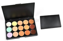 10Sets/Lot Professional 15 Colors Camouflage Concealer Makeup Palette New Free Shipping(China (Mainland))