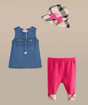 New 2014 Brand Baby Girls Clothing Sets 3pcs Kids Clothes sets Cap + shirt + pants sets infantis Girls Summer