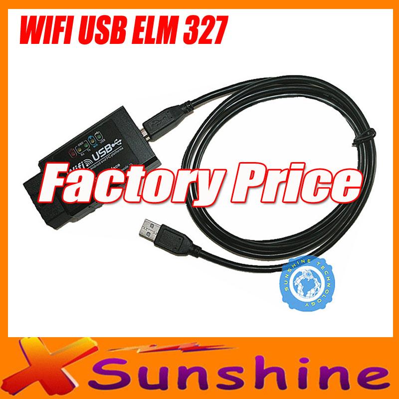 Scanner Professional Diagnostic Tool elm 327 wifi obd ii Support I