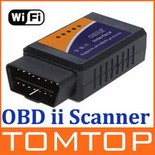 Wi-Fi wifi ELM 327 ELM327 OBD 2 II Car Diagnostic Tool OBD Scanner Interface Scanner  Wholesale(China (Mainland))