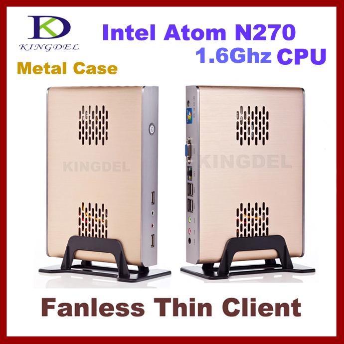 2014 New Thin Client Computer, Mini PC, Intel Atom Dual Core CPU, 2GB RAM, 24GB SSD, WiFi, 1080P HDMI, Fanless, Windows 7 OS(Hong Kong)