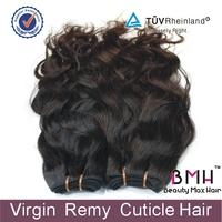 5A grade BeautymaxHair 3.5oz/piece 3pcs/lot natrual wave virgin Peruvian hair weft free shipping