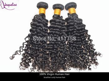 "rosa hair products brazilian virgin deep wave human hair mix size 8""-28"" 4pcs brazilian natural color grade aaaaa free shipping"