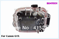 Free shipping by all way except UPS underwater 40M camera diving housing for Canon G1X