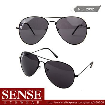 Free Shipping Men Eyewear Vintage Sunglasses Hot Sale Aviator Style Sunglasses Men Big Frame For Women