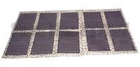 Free Shipping DIY Portable Folding 100W/18V Monocrystalline Solar Panel Charger Bag for Laptop/12V Battery Factory