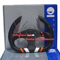 Sparko Racing Car Steering Wheel PU Universal Game Steering Wheel 13inch