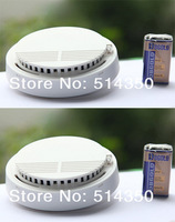 2pcs hot Photoelectric 433/315MHZ Wireless Smoke Detector for Fire Alarm Sensor
