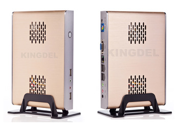 2013 New Thin Client, Fanless Mini PC,1GB RAM, 32GB SSD, 32 Bit, Intel Atom N270 1.60Ghz, Metal Case, Home Theater Computer
