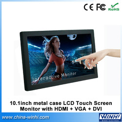 10 inch hdmi DVI VGA 12 volt dc lcd monitor +High Quality +Factory Direct +Speedy Delivery(China (Mainland))
