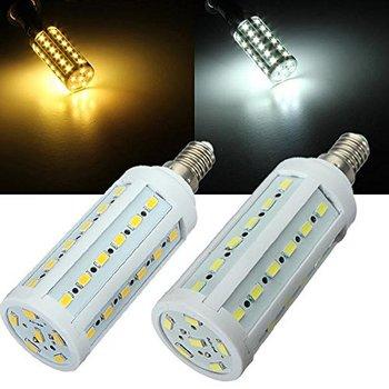 10W E14 AC 220V LED Bulb 42 leds 5630 SMD LED Corn Lamp Bulbs Light White Light or Warm Light White Free Shipping