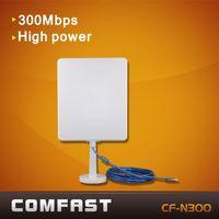 300Mbps free shipping Usb wireless wifi adapter  Comfast CF-N300 802.11g\b\n long range wifi adapter high power wifi antenna
