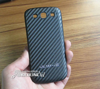 Carbon Fiber Battery Door Housing Back Cover Battery Cover For Samsung i9300 Galaxy S3 S III