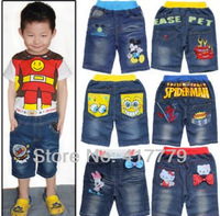 Popular Korean kids jeans ,various of Cartoon for your options FREE SHIPPING
