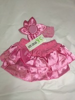 Baby suit/ Baby PP skirt + flower headband/ Baby girl ruffle laced skirt/ Infant dress free shipping