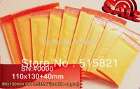 """60pcs/pak]Golden Kraft  Bubble Envelope Mailer Air Bag Extenal Dimension is 108mm x 130mm+40mm lip (4.3""""x 6.7"""")"""