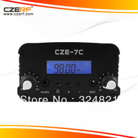 Free Shipping CZH-7C 7W Car Amplifier For Ipod FM Transmitter 76 ~ 108MHz Adjustable